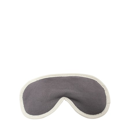 Chalk Sleep Mask Supersoft Jersey with Lavender - Black