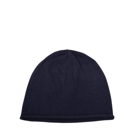 Chalk Helen Supersoft Knit Hat - Blue