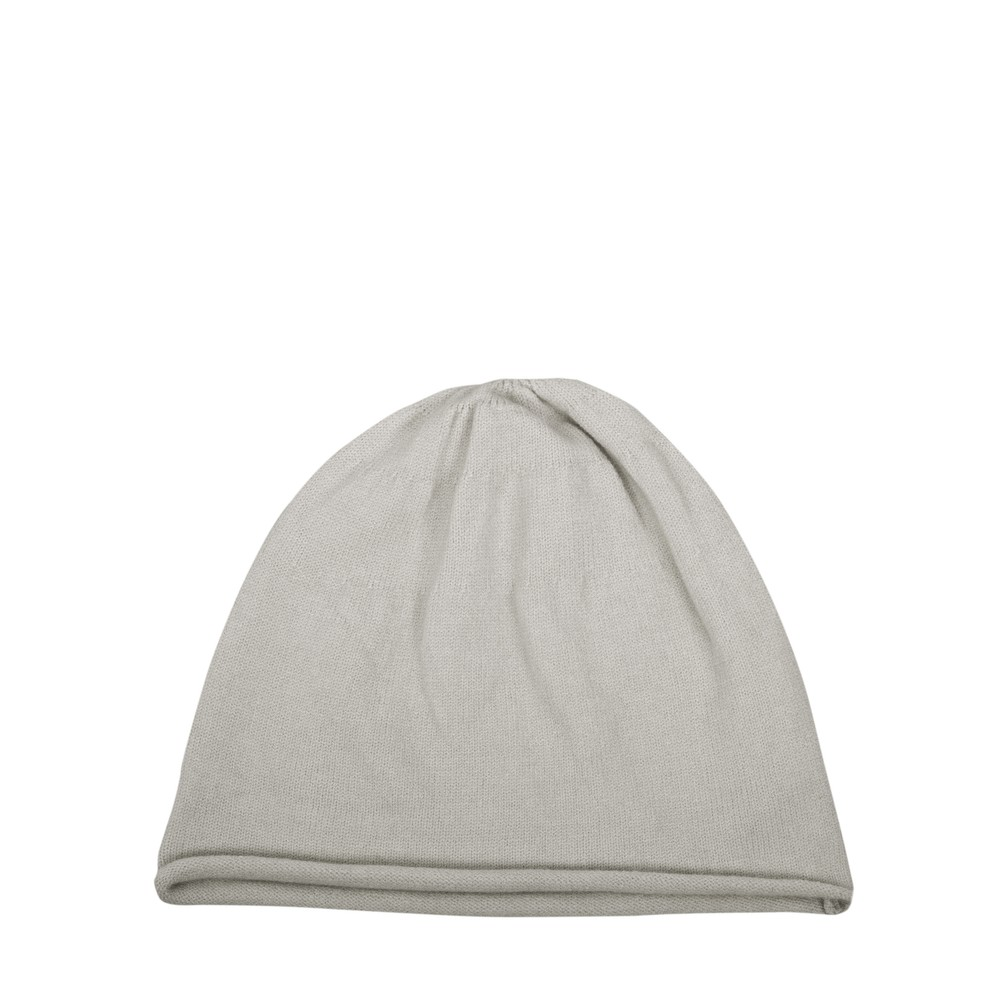Chalk Helen Supersoft Knit Hat Silver