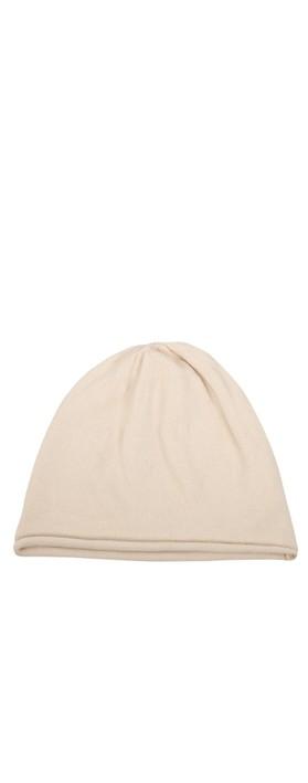 Chalk Helen Supersoft Knit Hat Light Stone