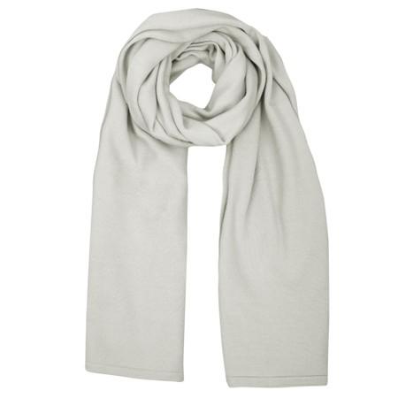 Chalk Suzy Supersoft Knit Scarf - Metallic