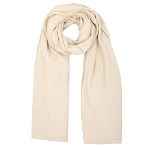 Chalk Suzy Supersoft Knit Scarf