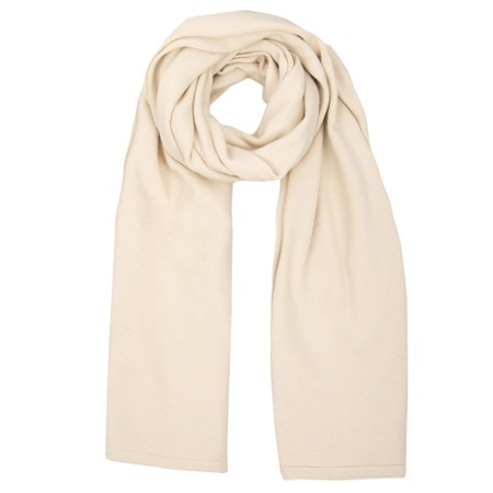 Chalk Suzy Supersoft Knit Scarf - Off-White