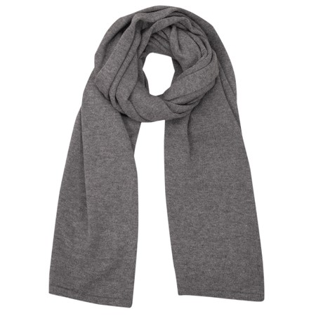 Chalk Suzy Supersoft Knit Scarf - Grey