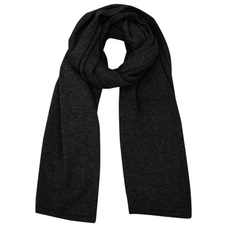 Chalk Suzy Supersoft Knit Scarf - Black