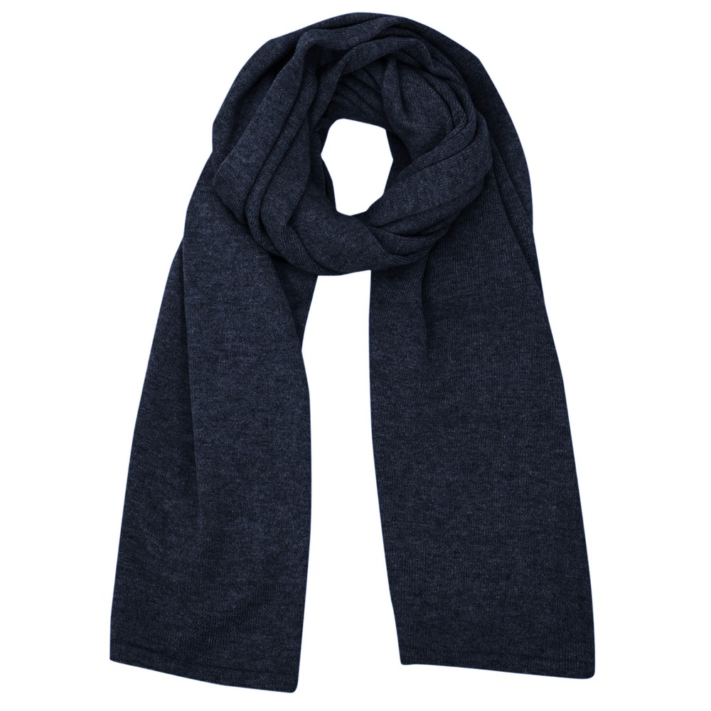 Chalk Suzy Supersoft Knit Scarf Navy