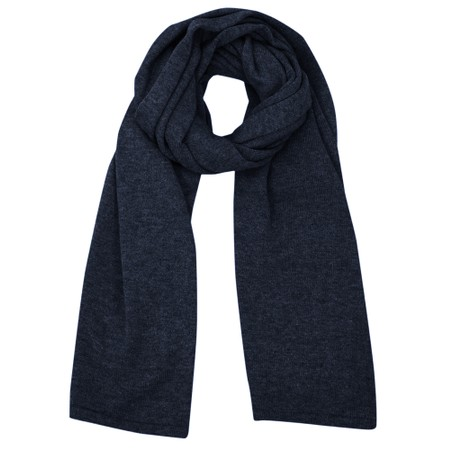 Chalk Suzy Supersoft Knit Scarf - Blue