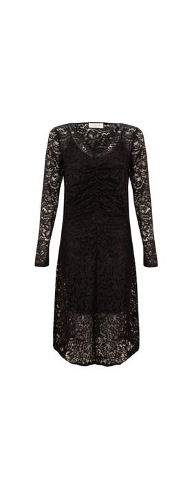 Rosemunde Manacore Lace Dress 999-Black