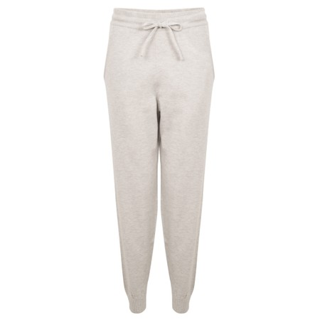Chalk Lucy Supersoft Knit Lounge Pant - Metallic