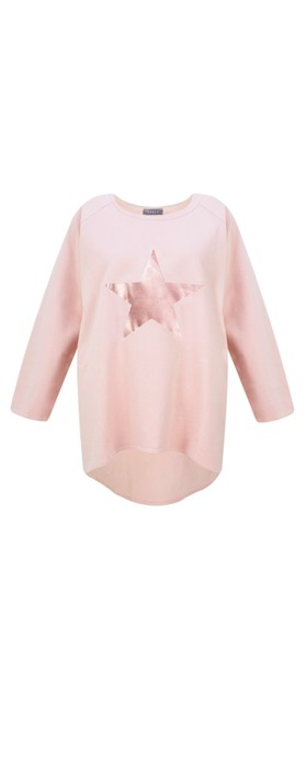 Chalk Robyn Star Top Pink / Rose Gold