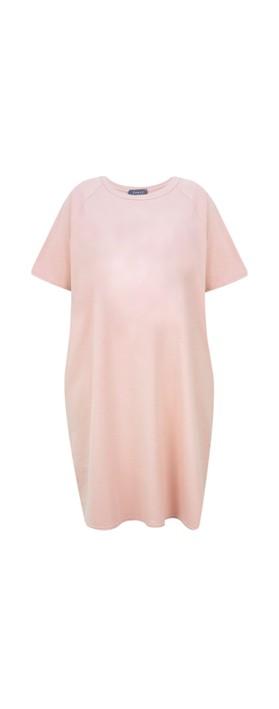 Chalk Linda Plain Dress Pink