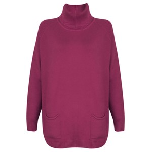 Amazing Woman  Anna Two Pocket Relaxed Fit Jumper
