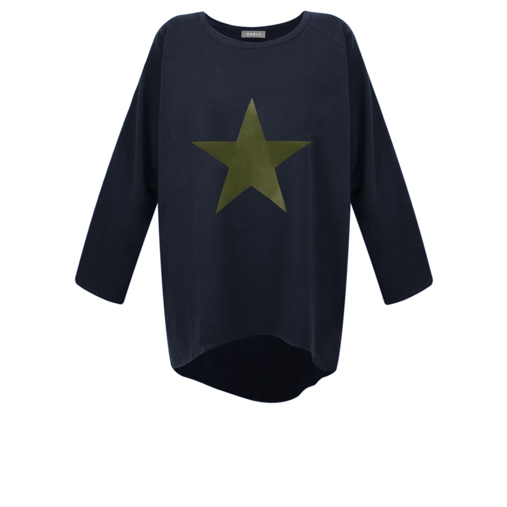 Chalk Robyn Star Top Navy / Khaki