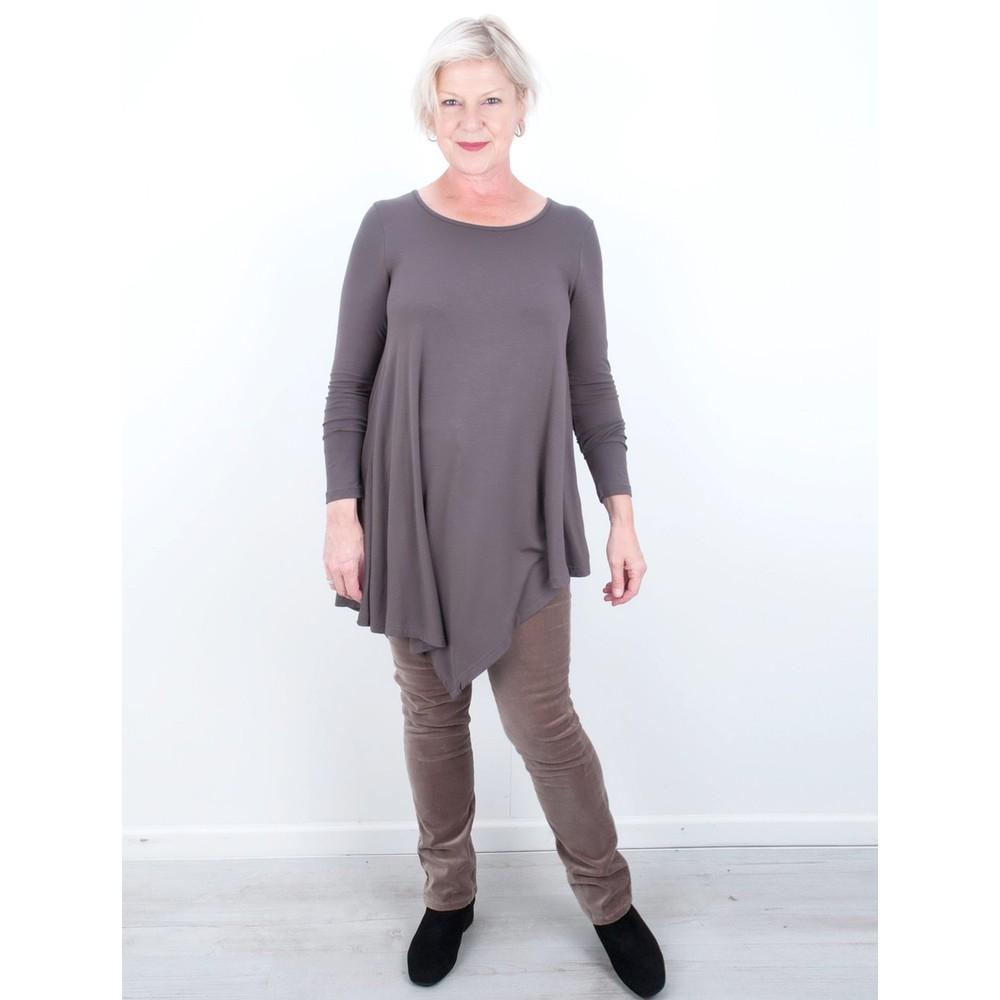 Amazing Woman  02 Velvet Straight Leg Jean Mole
