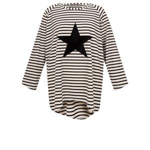 Chalk Robyn Stripe Star Top