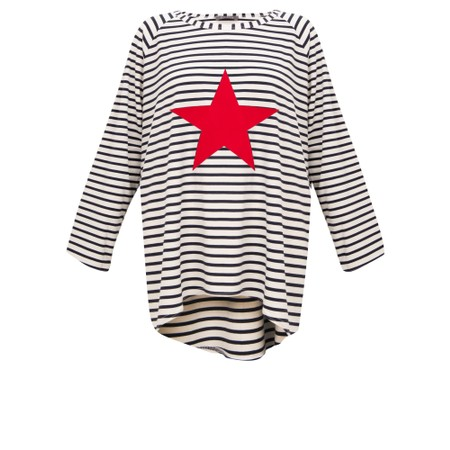 Chalk Robyn Stripe Star Top - Multicoloured