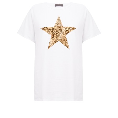 Chalk Darcey Star Top - White