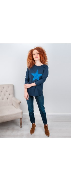 Robell  Nena Ankle Zip Cropped Jeans Dark Denim 69