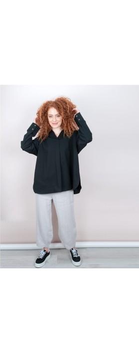 Focus Linen Trouser Silver