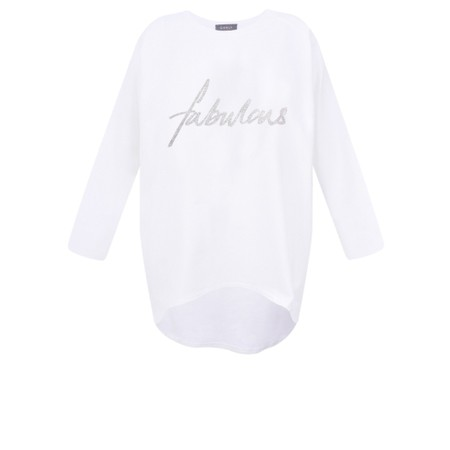 Chalk Gemini Exclusive ! Robyn Fabulous Top - White