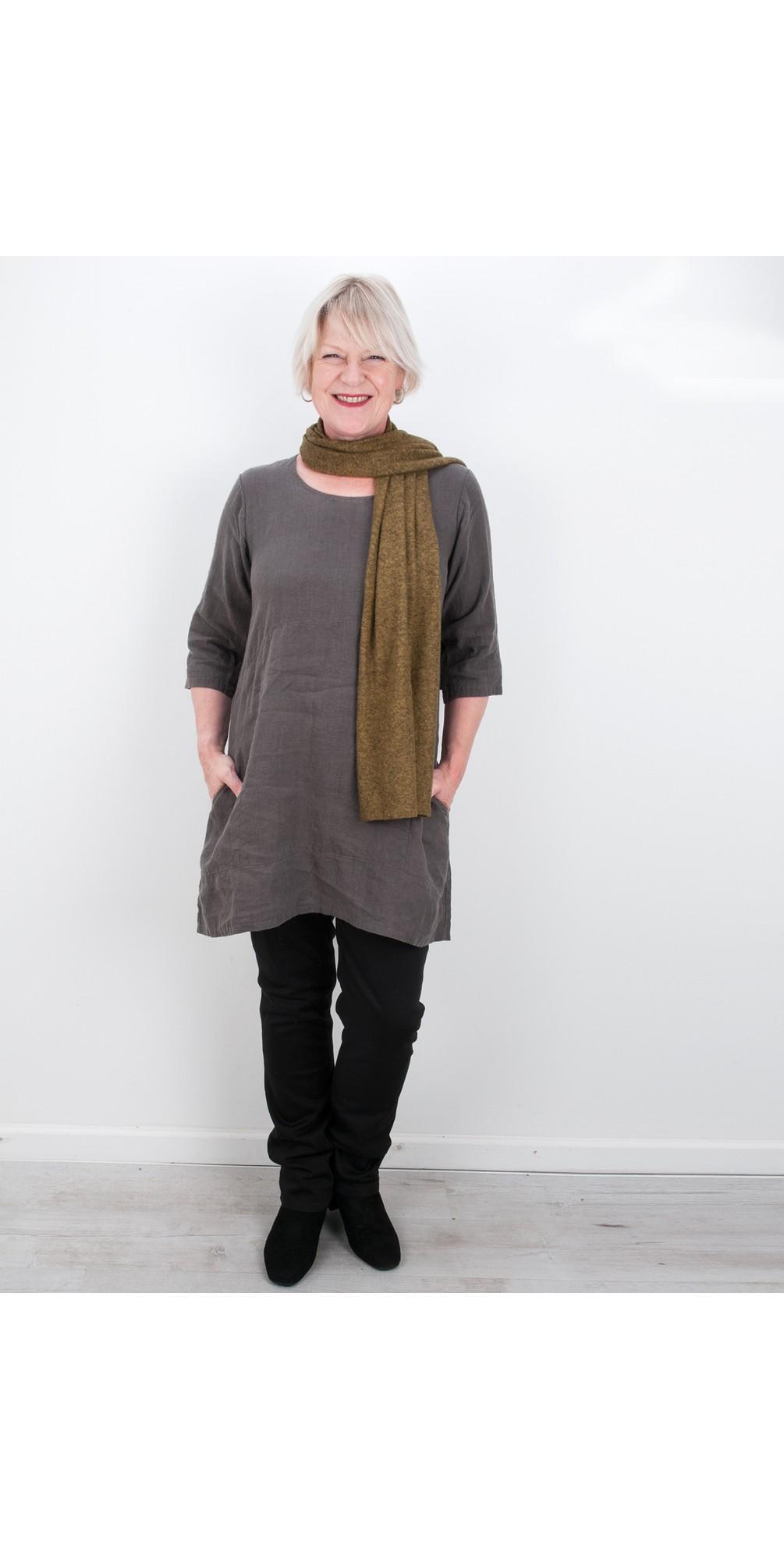 Two Pocket Winter Linen Tunic main image
