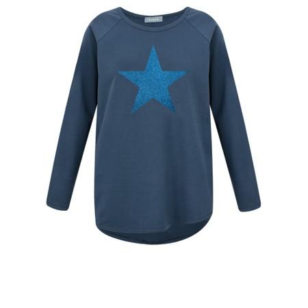 Chalk Gemini Exclusive ! Tasha Star Top - Blue