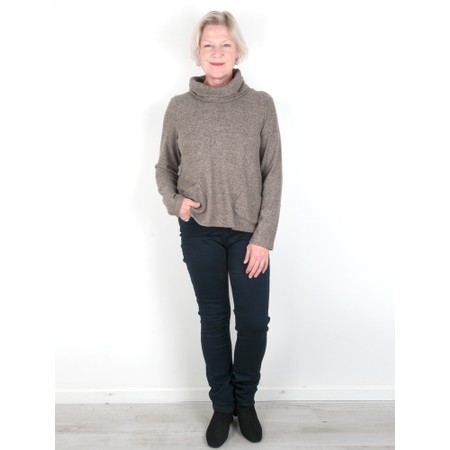 Thing Supersoft Cowl Neck Top - Gemini Exclusive !  - Beige