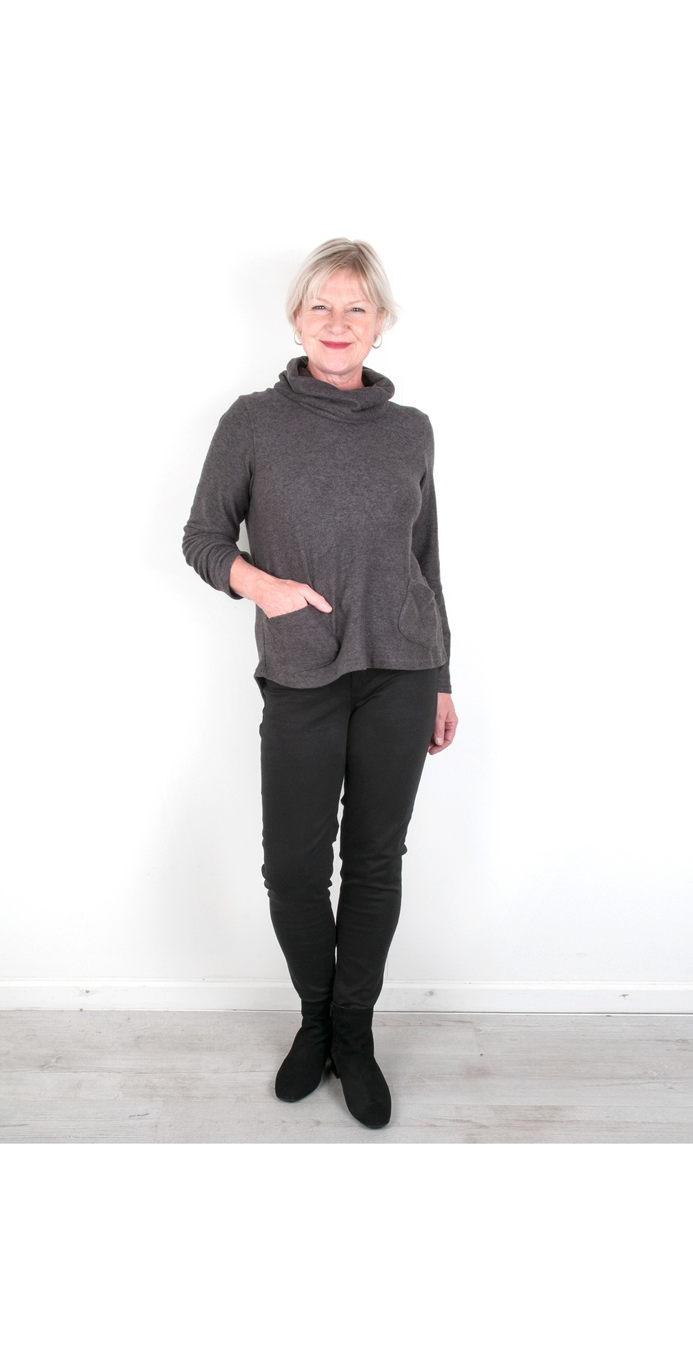 Supersoft Cowl Neck Top - Gemini Exclusive !  main image
