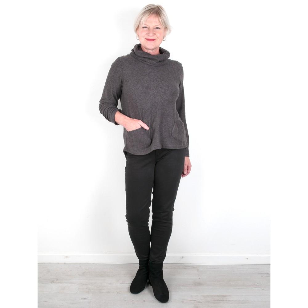 Amazing Woman Guapa 12 Skinny Ankle Jean Black