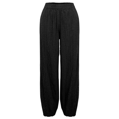 Thing Easyfit  Textured Trouser - Black