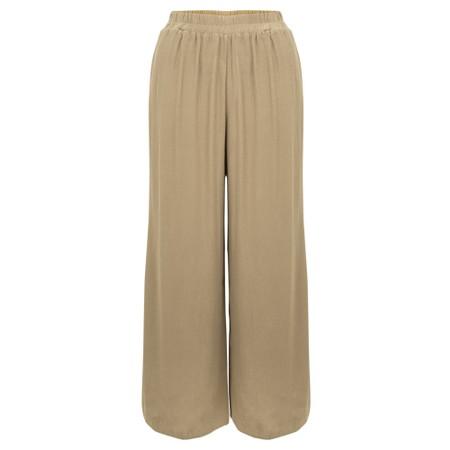 Thing Wide Leg Trouser - Beige
