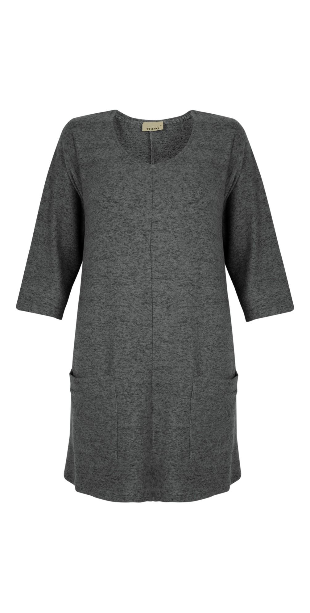 Supersoft Fleece Pocket Tunic Top main image