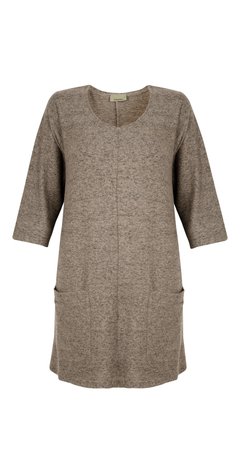 Supersoft Fleece Pocket Tunic Top main image