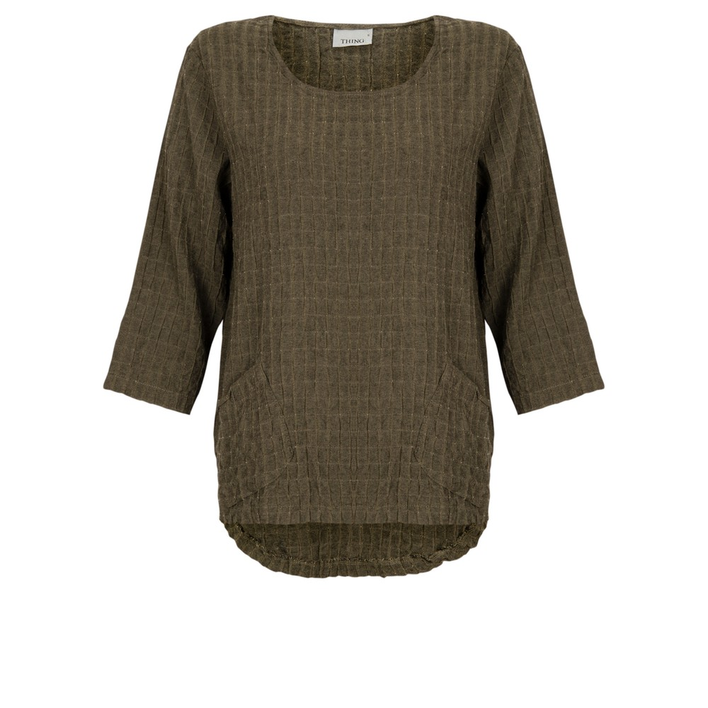 Thing 2 Pocket Textured Top Sand