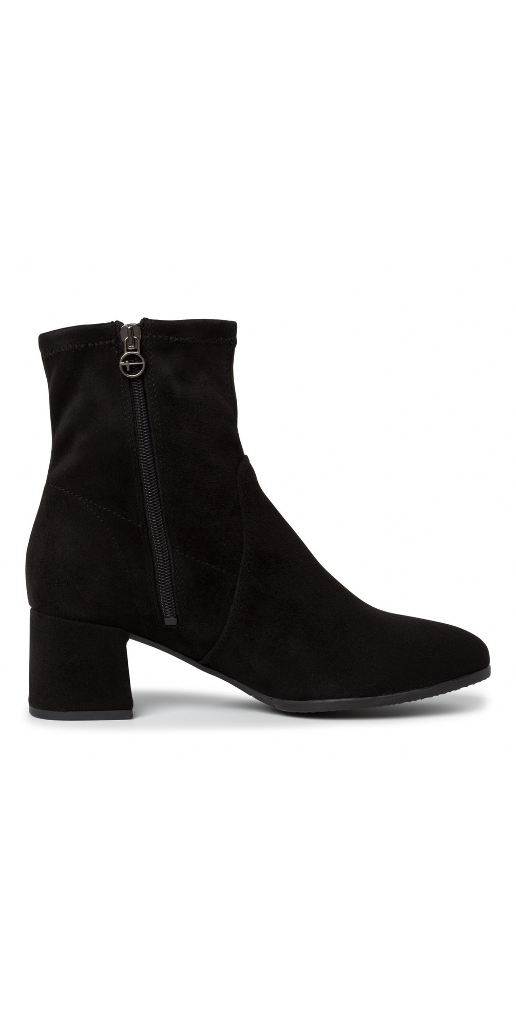 Nadda Stretch Ankle Boot Block Heel main image