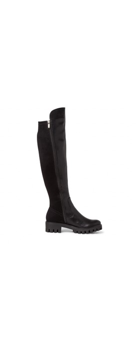 Tamaris Rbulo 50-50 Long Stretch Long Boot Black