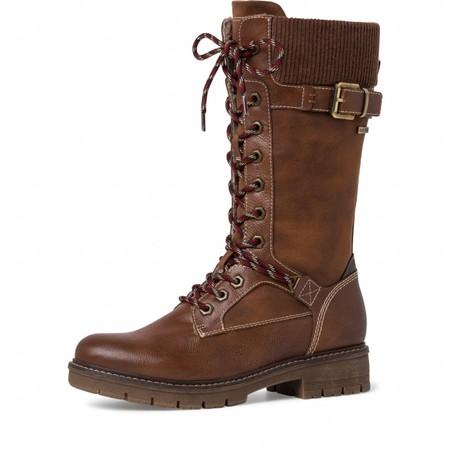 Tamaris  Vina Tall Hiker boot - Brown
