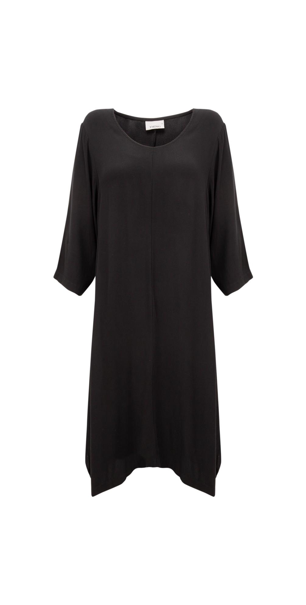 Tunic Crepe Dress main image