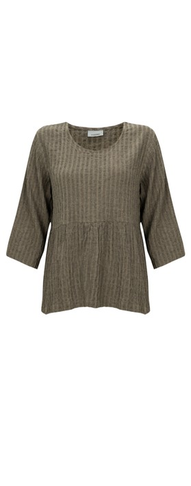 Thing Textured Smock Top Sand