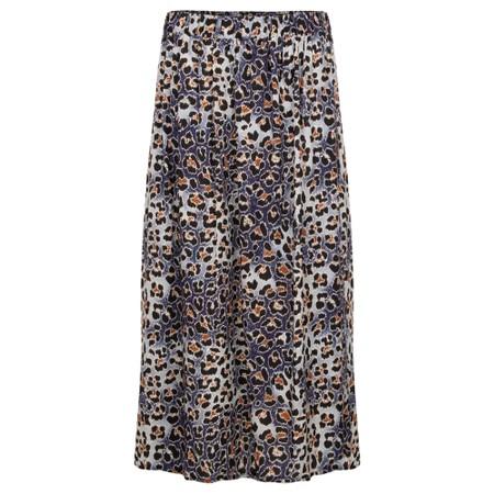 Amazing Woman  Santa Midi Skirt - Blue