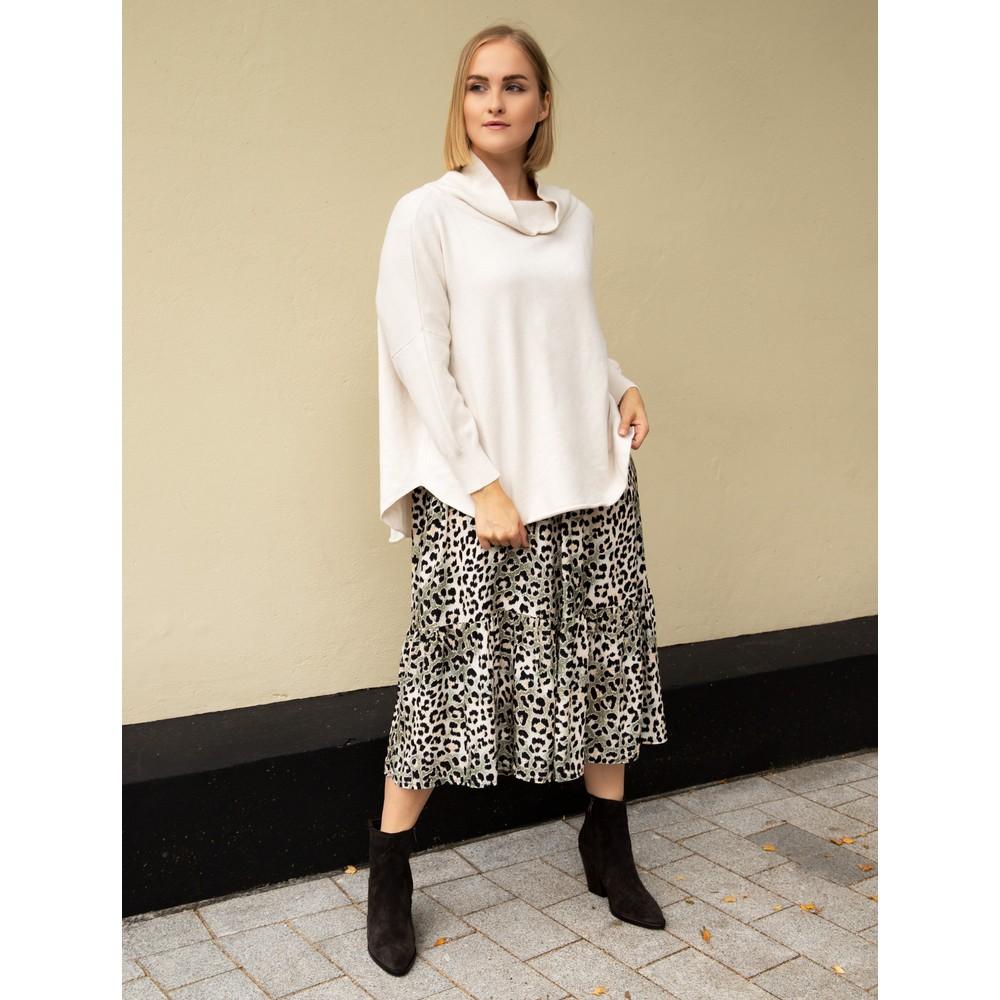 Amazing Woman Vera Oversized Knit Jumper Off White
