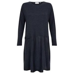 Foil Out of Line Shift Merino Dress