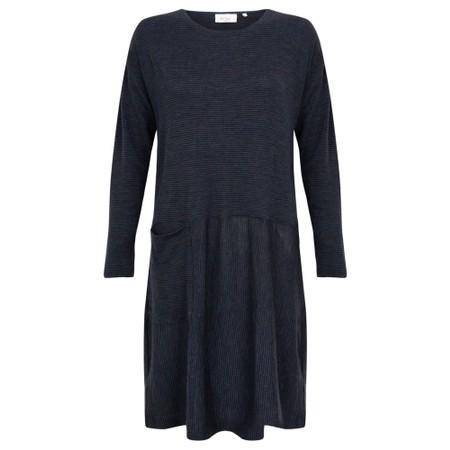 Foil Out of Line Shift Merino Dress - Multicoloured