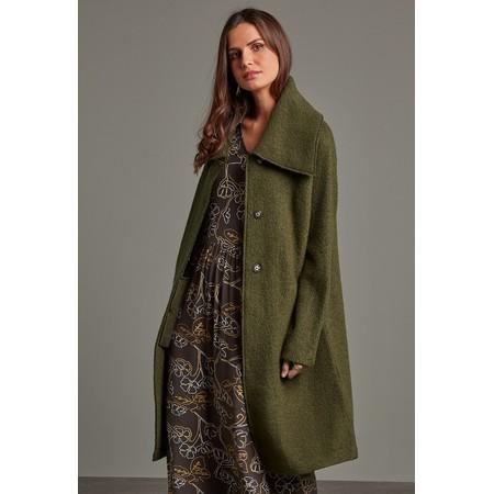 Adini Falmouth Wool Coat - Green