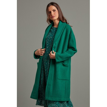 Adini Marlow Wool Coat - Green