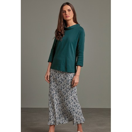 Adini Estelle Bias Skirt - Green
