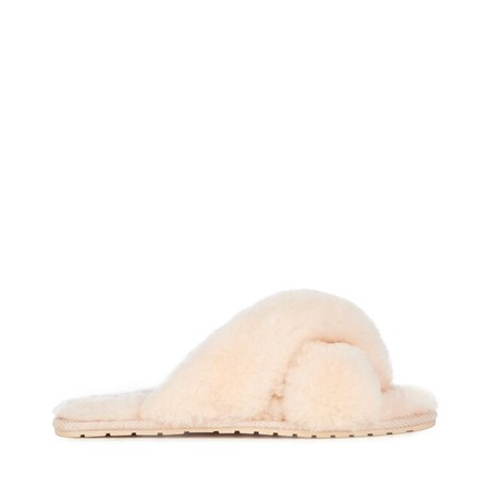 EMU Australia Mayberry Sheepskin Slider Slipper - Beige