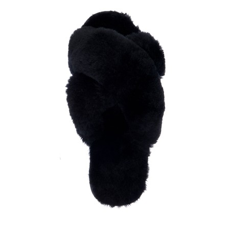 EMU Australia Mayberry Sheepskin Slider Slipper - Black