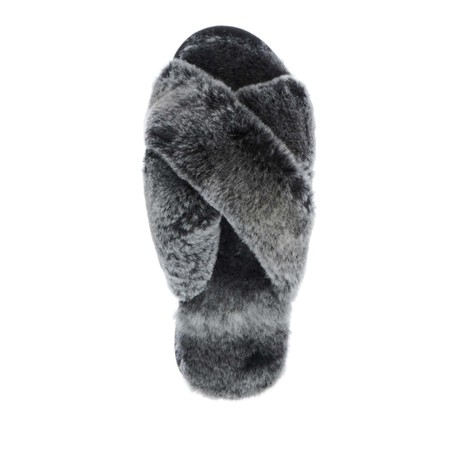 EMU Australia Mayberry Frost Sheepskin Slider Slipper - Black
