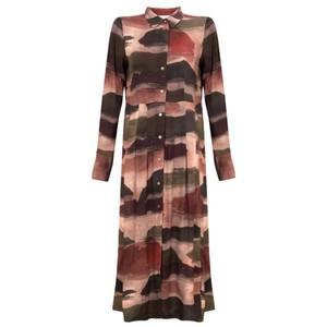 Foil Easy Tiger Maxi Dress